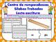 Gl Centro de Silabas Trabadas Grupos Consonanticos Station