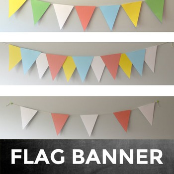 Flag Banner Classroom Decoration