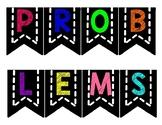 """Flag Banner """"Problem Sovling"""""""