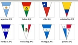 Flag Banner of Spanish Speaking Countries