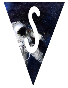 Flag Banners - Outer Space