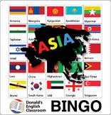 Flag Bingo - Asia