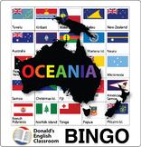 Flag Bingo - Oceania