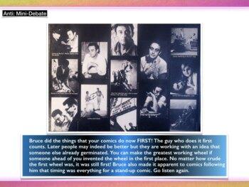 First Amendment ~ Lenny Bruce ~ Flag Burning ~ Son of Sam Laws ~ 50 Slides