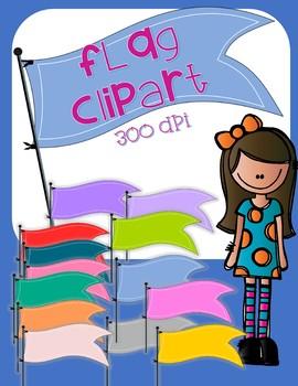 Flag Clip Art  - 13 total