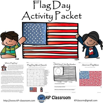 photograph regarding Flag Day Printable Activities called Flag Working day Reading through Composing Drawing Video game Packet