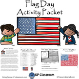 Flag Day Reading Writing Drawing Activity Packet