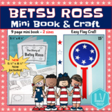 Betsy Ross Mini Book and Craft - Flag Day Craft, Women's History Month