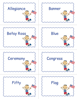 Flag Day Bingo