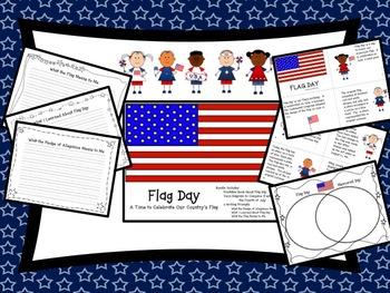 Flag Day Book, Venn Diagram & Writing Prompts