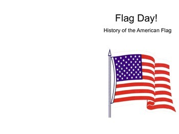 Flag Day Booklet for First Graders