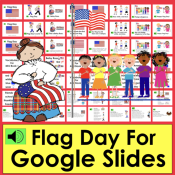 Flag Day Distance Learning Google Slides With Sound PDF with LINK