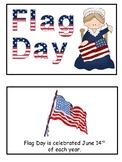Flag Day  Emergent Reader Flip Book