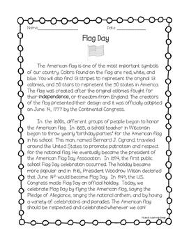 Flag Day Reading