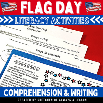 Flag Day Reading Comprehension Passages