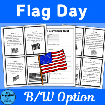 Flag Day Scavenger Hunt