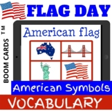 Flag Day VOCABULARY American Symbols - Boom Cards Distance