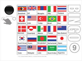 Flag Digital Bingo