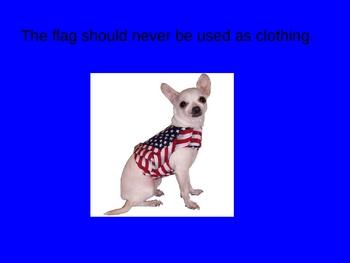 Flag Etiquette Power Point