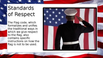 U.S. Flag Etiquette Powerpoint - Extended Version
