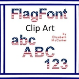 Font Clip Art: 4th of July (Independence Day)