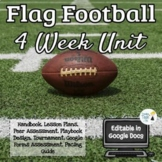 Flag Football 4 Week Unit Bundle - Middle/High School - Ed