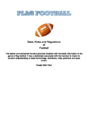 Flag Football Handout and Worksheet