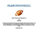 Flag Football Handout and Worksheet