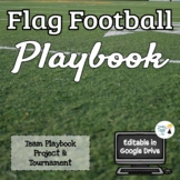 Flag Football Playbook - Editable in Google Drive