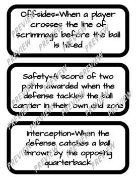 Flag Football Unit  Mega Bundle