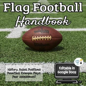Flag Football Unit - Physical Education - Rules, Strategy, Rubric, Assessment