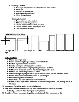 Flag Football unit notes