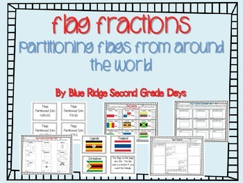 Flag Fractions: Partitioning Flags From Around The World