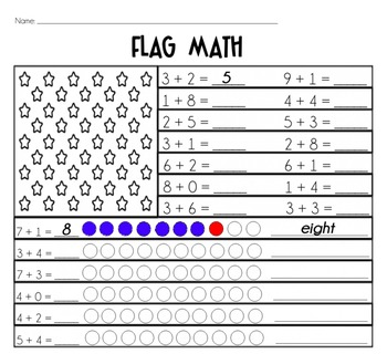 Flag Math {Basic Addition}