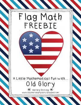 Flag Math Freebie