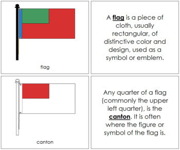 Flag Nomenclature Book (Red)
