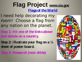 Flag Project / Flags around the World