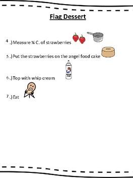 Picture Recipe- Flag Dessert