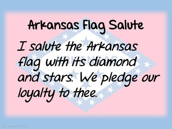 Flag Salute- ARKANSAS