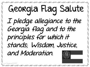 Flag Salute- GEORGIA