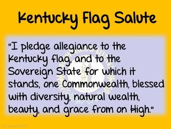 Flag Salute- KENTUCKY
