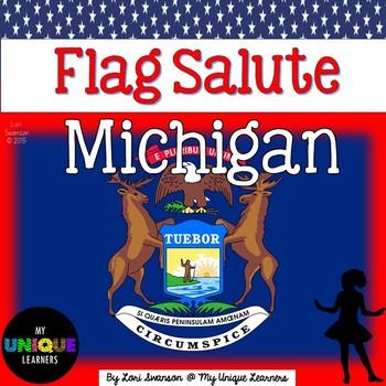 Flag Salute- MICHIGAN