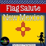 Flag Salute- NEW MEXICO (in English)