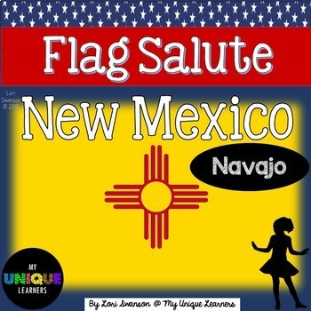 Flag Salute- NEW MEXICO (in Navajo)