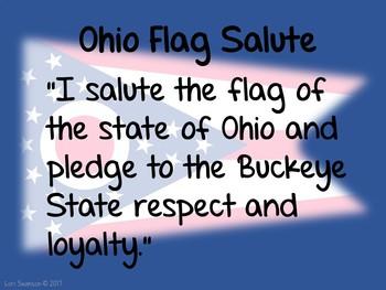 Flag Salute- OHIO