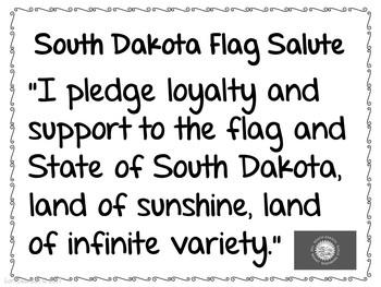 Flag Salute- SOUTH DAKOTA