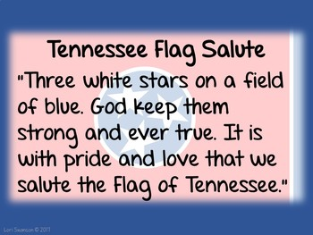 Flag Salute- TENNESSEE