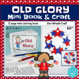 Flag Story Mini Book and Craft - Flag Day, Memorial Day -