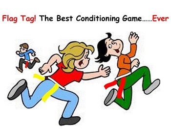 Flag Tag! The Best P.E. Conditioning Game...Ever.