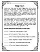 American Flag & Capital Worksheets & Test with Answer Keys United States